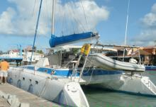 Fountaine Pajot Casamance : In dock
